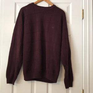 IZOD Maroon Sweater